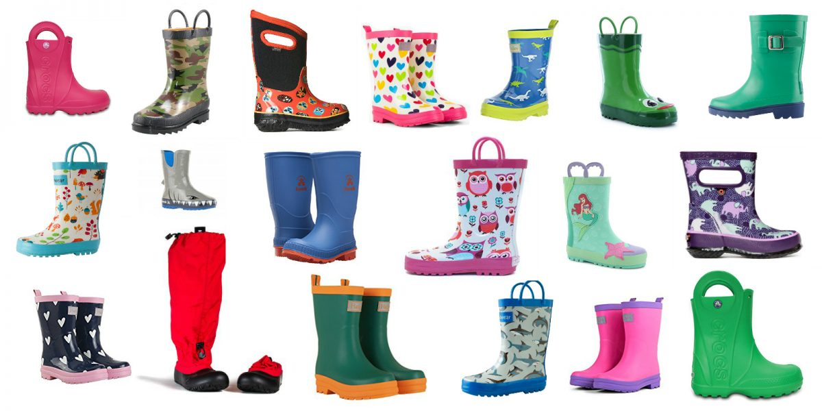 Stylish and Best Quality Rain Boots for Toddlers